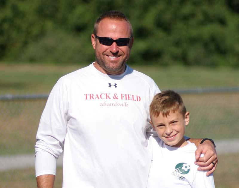 Illinois Track Coach Chad Lakatos