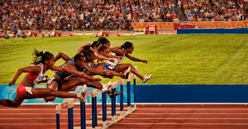 Women 100 Meter High Hurdles