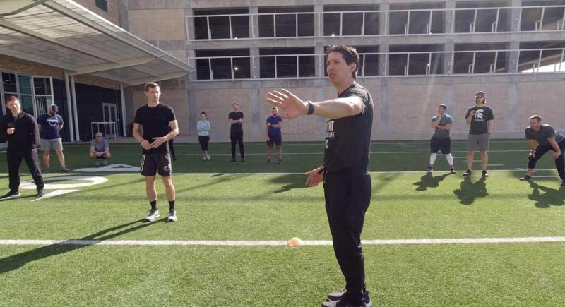 Derek Hansen Coaching Speed